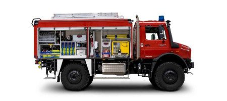 TLF 3000 VARUS 4x4 auf Unimog