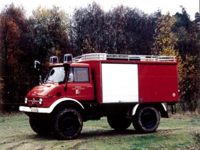 TLF 8 für den Waldbrandeinsatz
