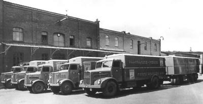 Lastzüge auf MAN Fahrgestellen